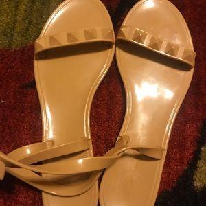 Bcbg generation tan sandals size 11B